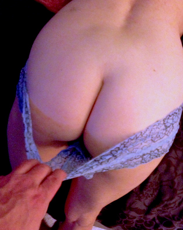 I pull the panties off her sexy ass